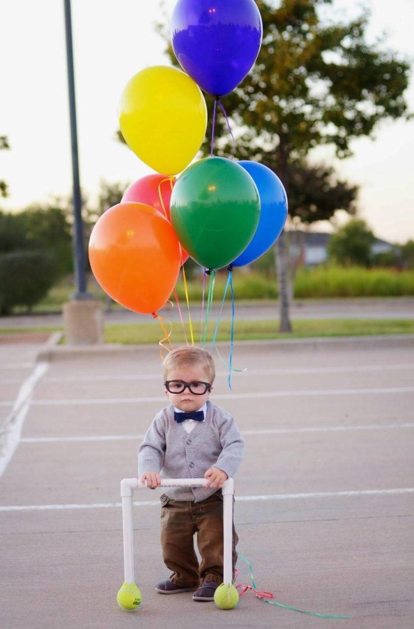 DIY toddler UP costume