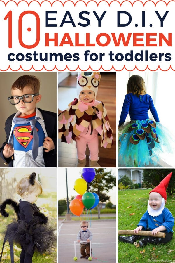DIY Halloween costumes for toddlers