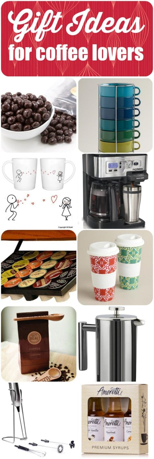 AWESOME IDEAS! 10 fabulous gift ideas for coffee lovers by Designer Trapped in a Lawyer's Body. Make a coffee lover in your life happy! #holidaygiftguide