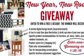 New Year, New Room ~ An Unprecedented Giveaway