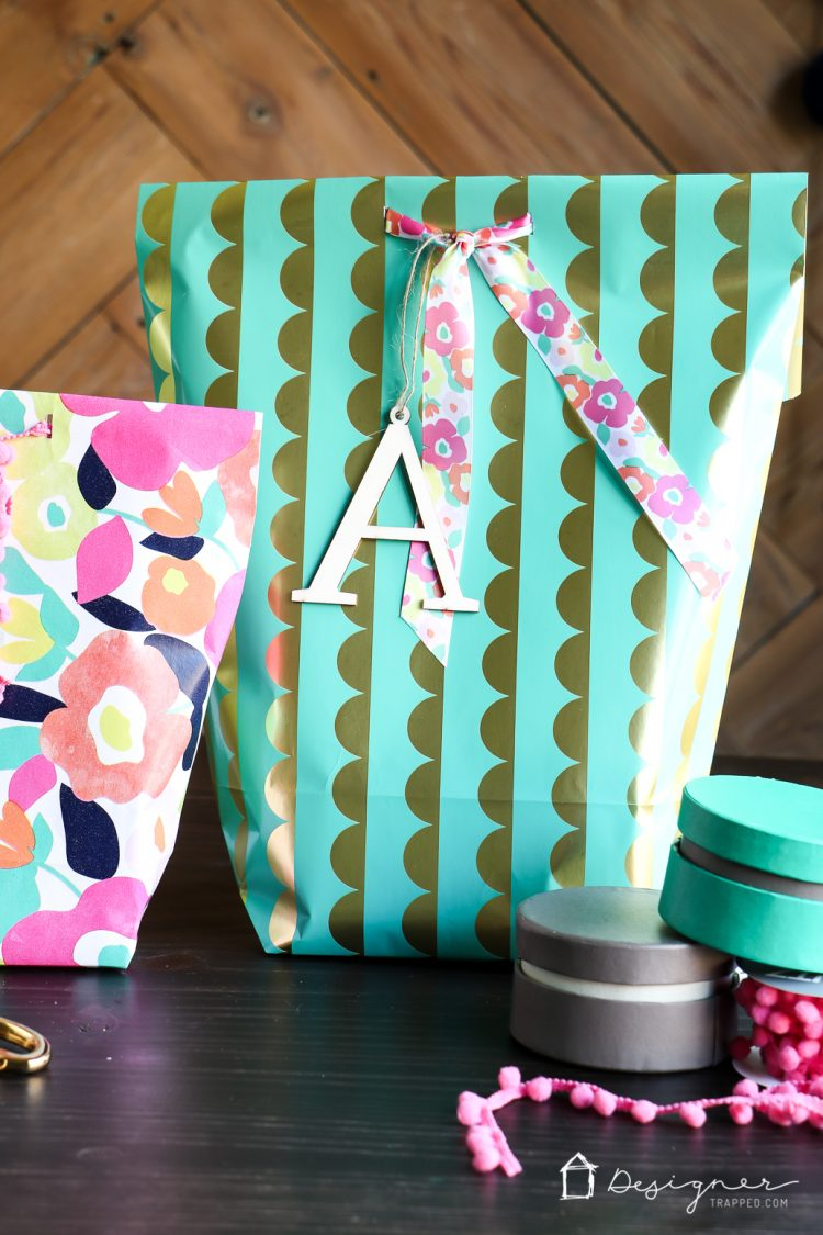 Ways to decorate gift bags - Learn How To Make A Gift Bag From Wrapping Paper
