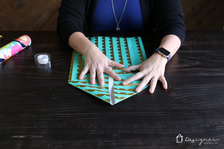 How To Make A Gift Bag From Wrapping Paper Designertrapped
