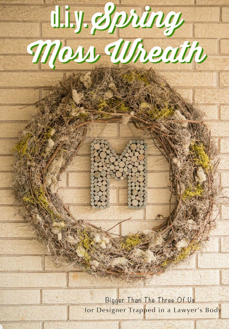 DIY Wreath for Spring Cute \u0026 Affordable Project! | Designer Trapped