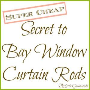 curtain rod button