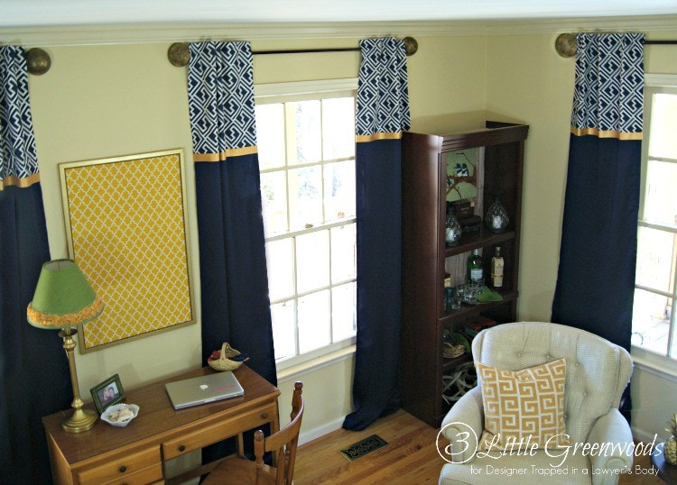 FABULOUS Tutorial For DIY Window Curtains! Add These Inexpensive Window  Treatments To Your Home Decor