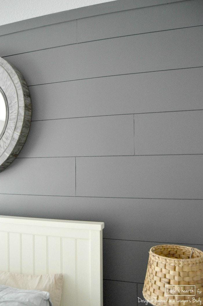 Diy Wood Plank Wall A Full Tutorial