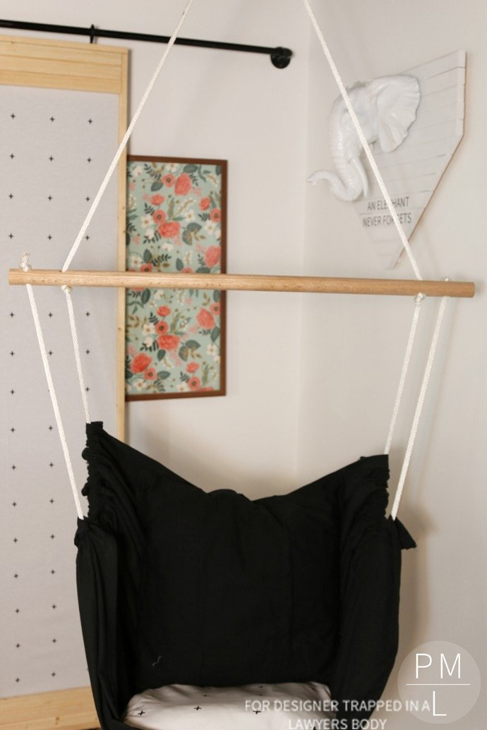 Bon This DIY Hammock Chair Is Such A Fun, Easy, And