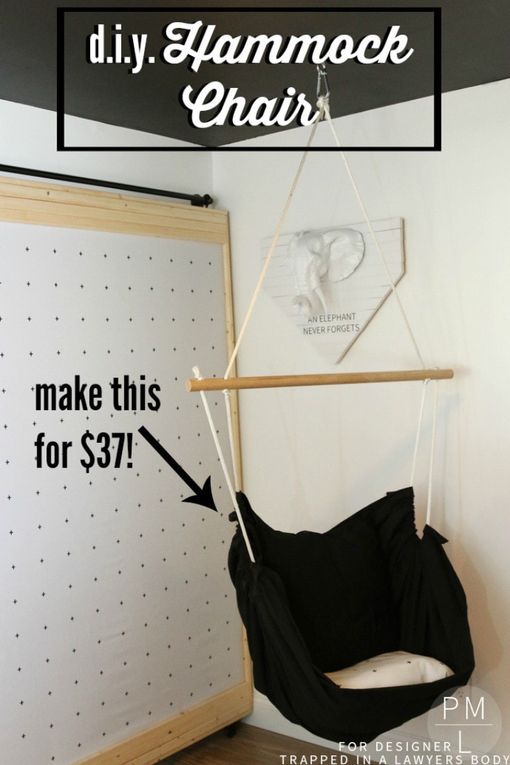 This DIY Hammock Chair Is Such A Fun, Easy, And