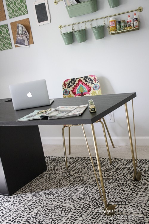 You Would Never Know This Is An Ikea Desk Hack! Talk About A