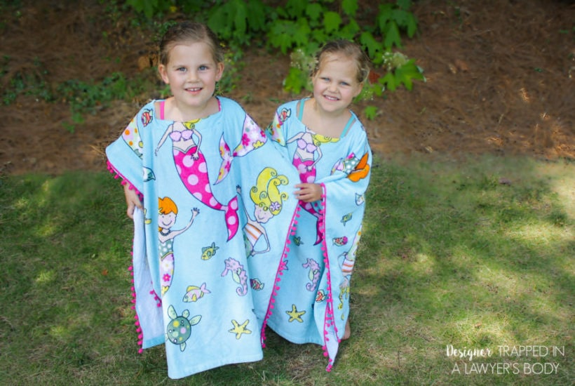 DIY Bathing Suit Cover Up for Kids