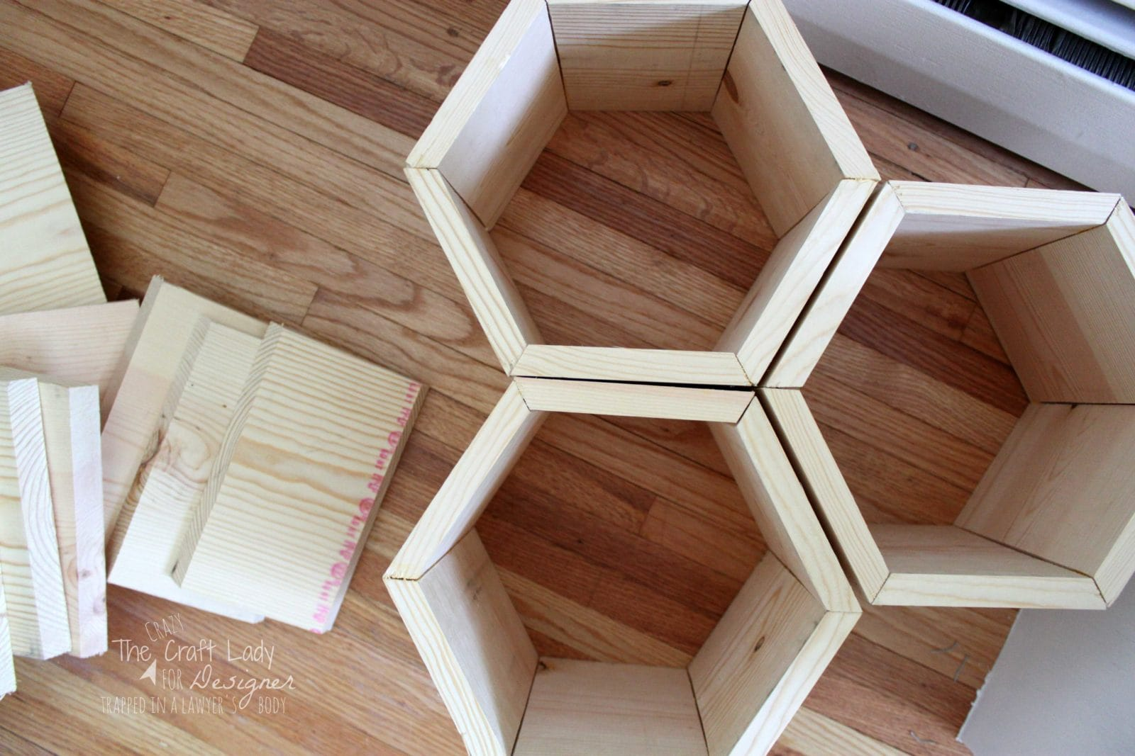 How To Make A Shoe Rack Hexagon Diy Shoe Rack Designer Trapped In A Lawyers Body