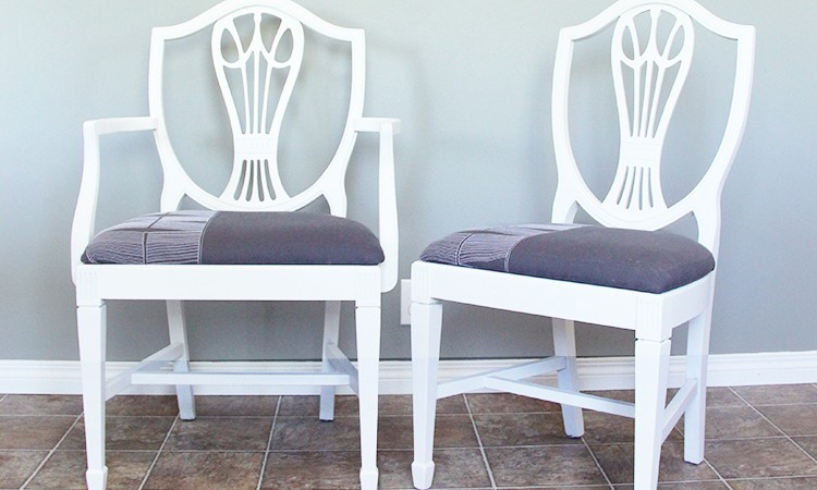 Hepplewhite Dining Chair Makeover