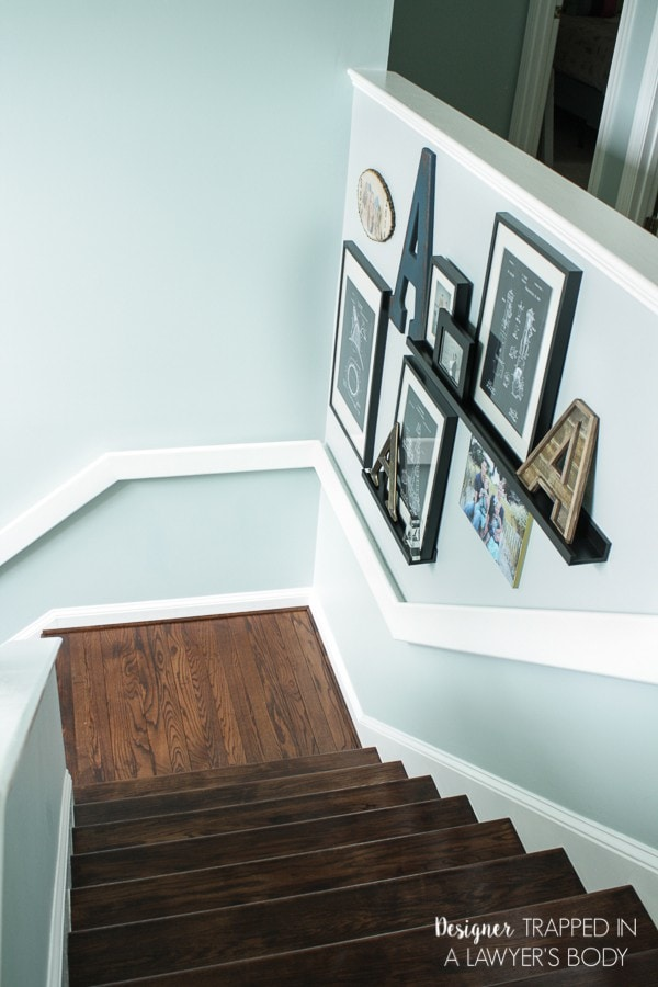 Carpeted Stairs Before DIY Makeover · DIY Wood Stairs