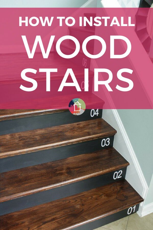 How to install wood stairs in a weekend how to install wood stairs solutioingenieria Images