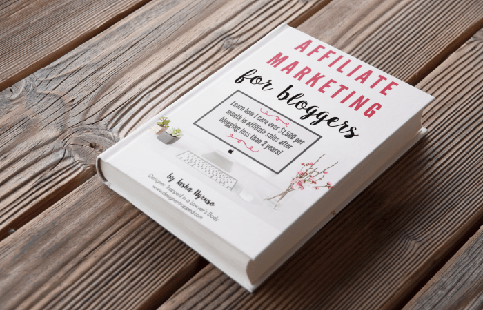 I DID IT!  Affiliate Marketing for Bloggers is HERE {+ a discount code}!