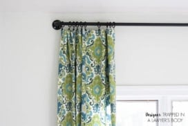 How to Make Curtains {the easy way}!