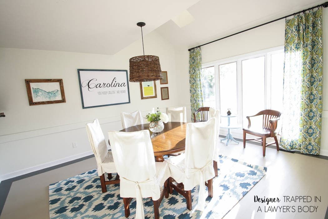 AMAZING, Budget Friendly Dining Room Makeover By Designer Trapped In A  Lawyeru0027s Body!