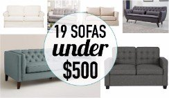 Amazing sofa deals are out there! These affordable sofas are super stylish at great prices.