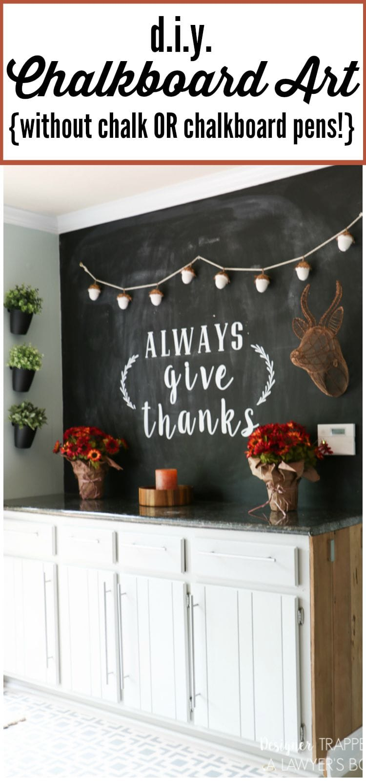 Fall Chalkboard Art And Decor Designer Trapped In A