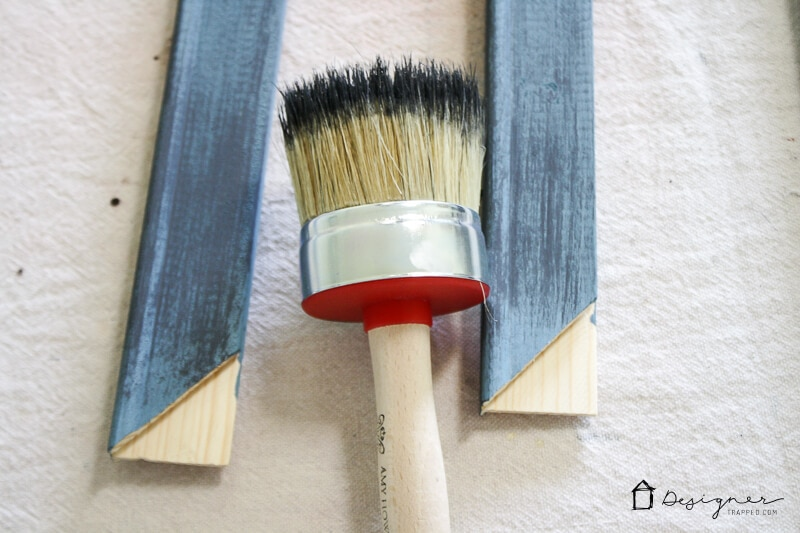 diy picture frame painting