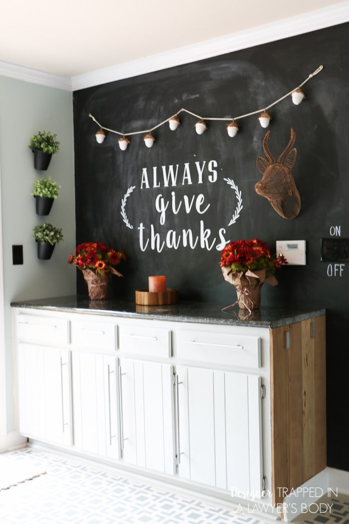 Tour My Home full of DIY Home Decor Projects! | Designertrapped.com