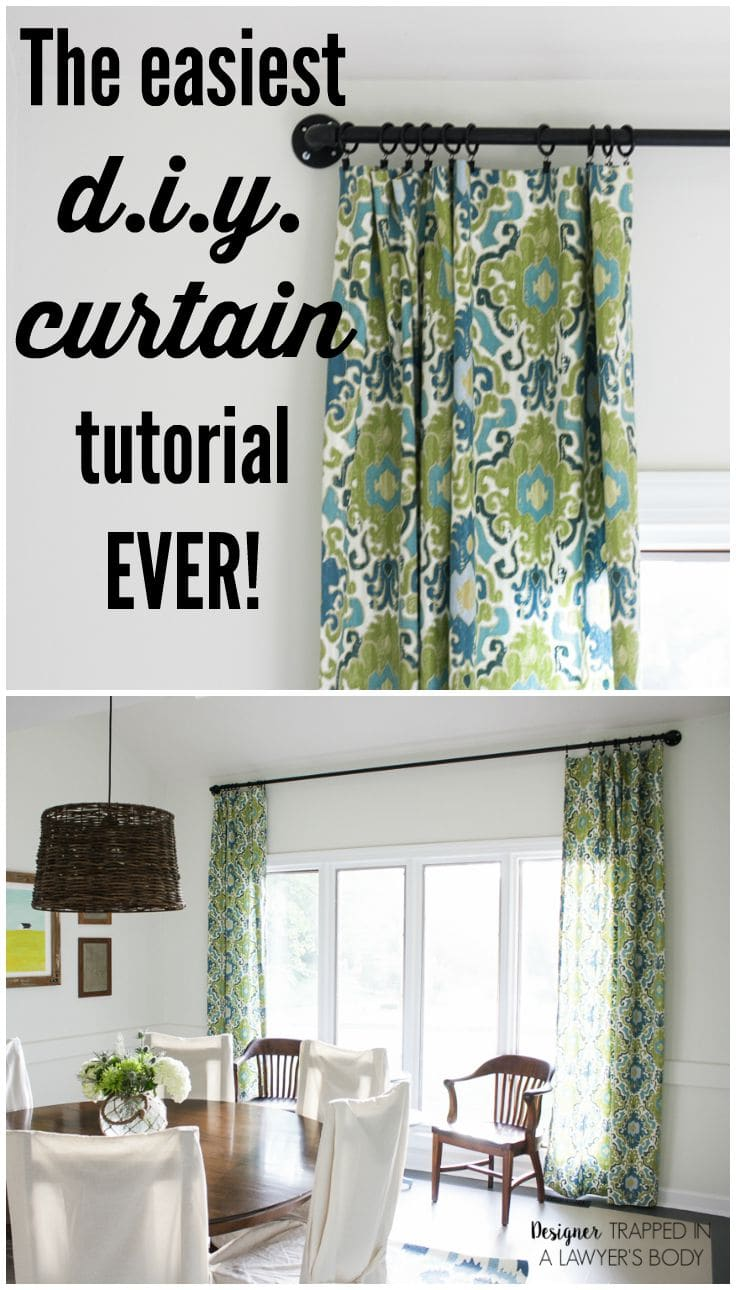 How to make simple curtains - This Is An Awesome Post On How To Make Curtains The Easy Way