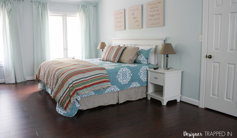 New Select Surfaces floors for our bedroom!