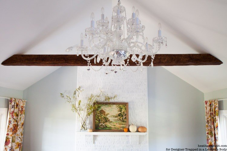 DIY Painted Brick Fireplace Tutorial! EASY, INEXPENSIVE, BIG IMPACT!! Check it out!!