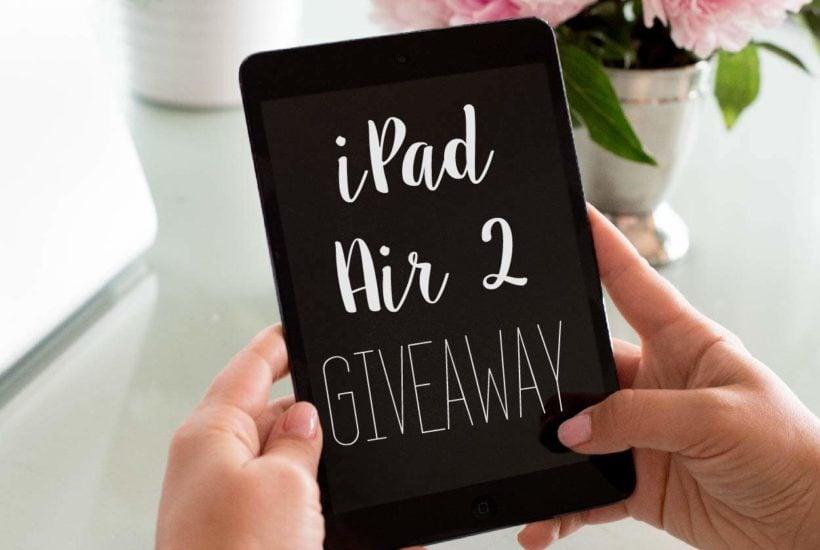 2-year Blogiversary + iPad Air 2 Giveaway
