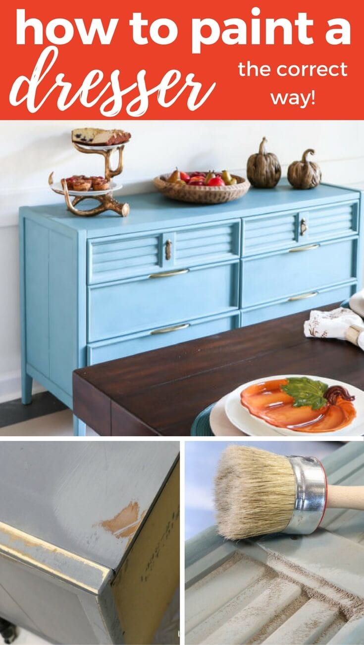 Learn How To Paint A Dresser The Correct Way And Not Do It