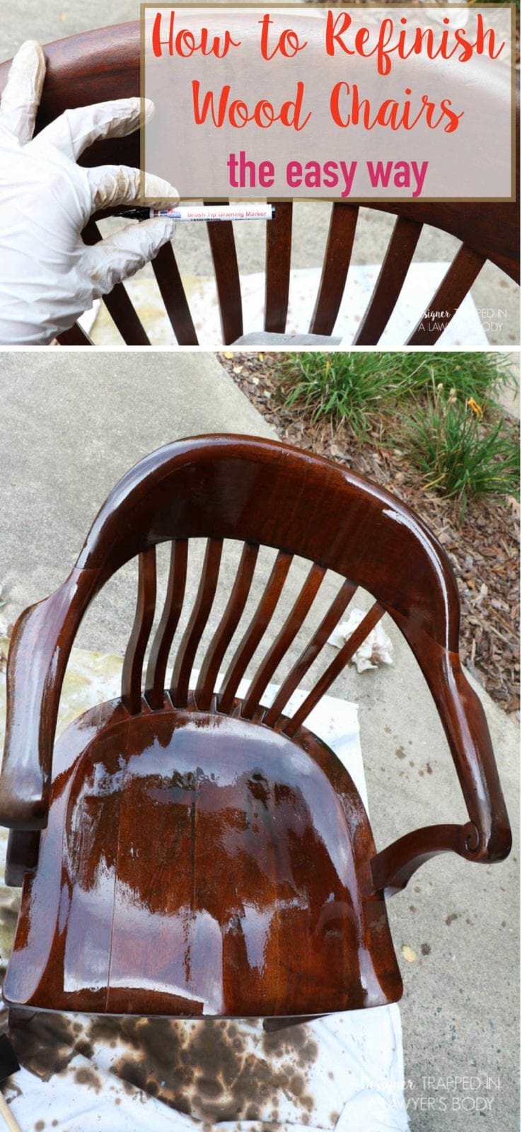 Home Wood Refinishing ~ Refinish table chairs sharp home design