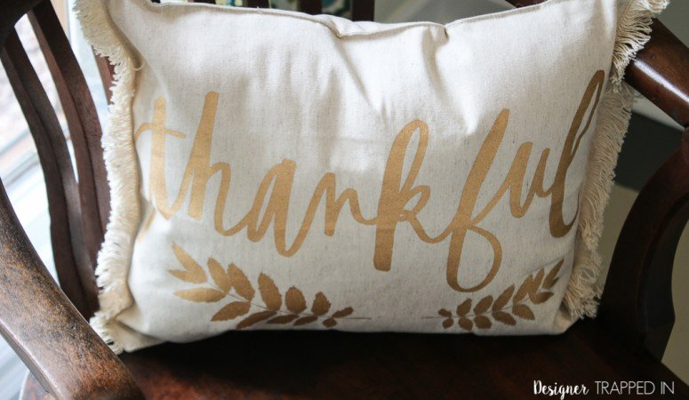 How to Make a Pillow from a Placemat