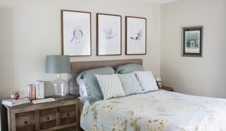 Guest Room Mini-makeover!