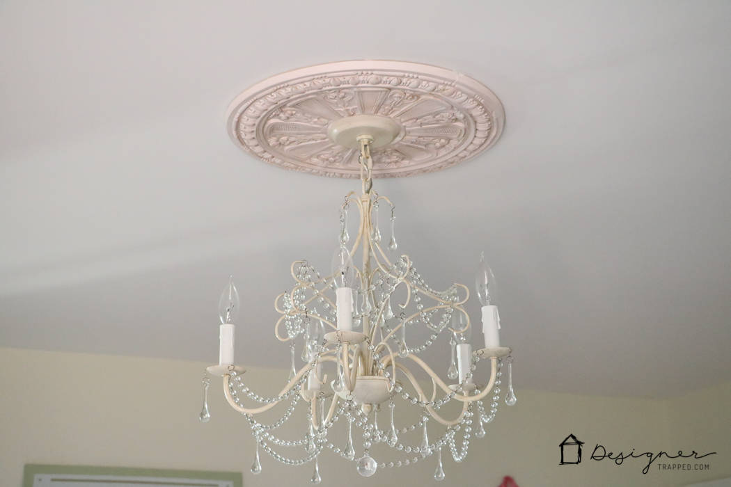 Deal With That Unsightly Ring Left By Flush Mount Light Fixtures Customizing Your