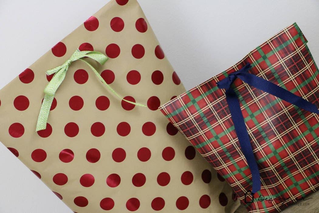 How To Make A DIY Gift Bag For Christmas   Designer Trapped