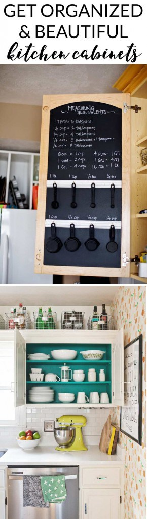 Inspiring Kitchen Cabinet Organization Ideas | Designer Trapped