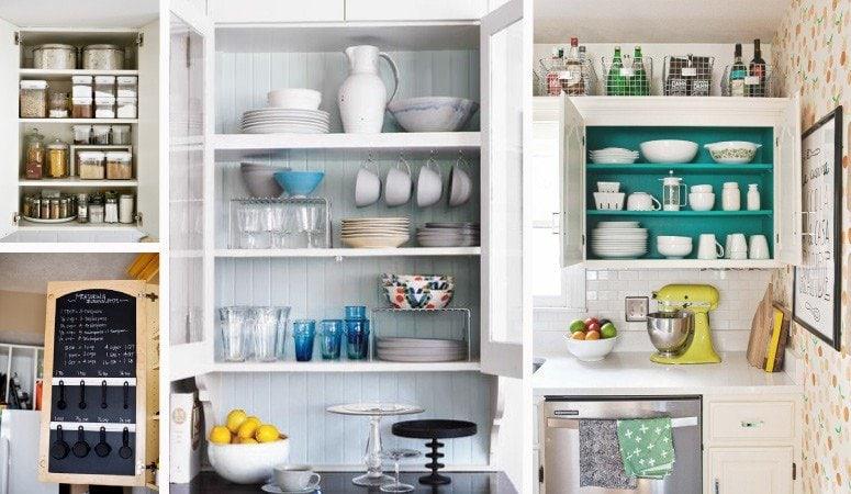 Inspiring Kitchen Cabinet Organization Ideas | Designer Trapped