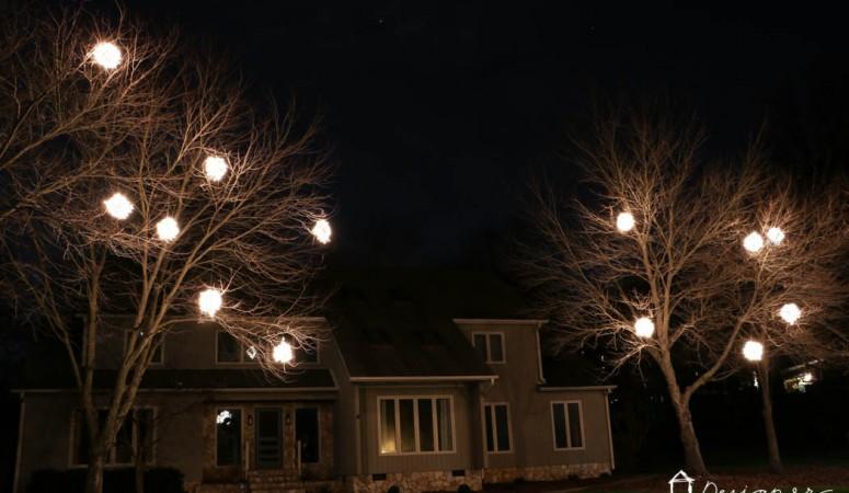 How to Make Lighted Christmas Balls