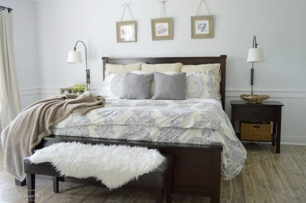 Master Bedroom Makeover budget friendly master bedroom makeover inspiration | designer