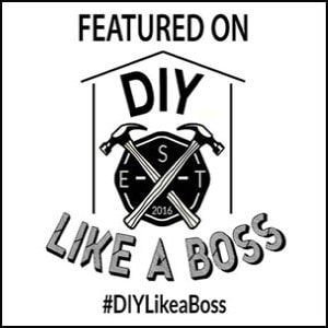 DIY Like a Boss- The only DIY and home decor link party where you will be featured on 5 blogs + Hometalk! #diylikeaboss