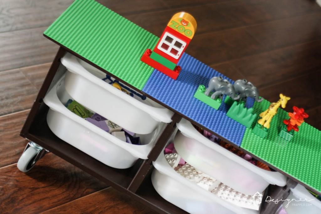 Make Your Own DIY Lego Table With This Simple Ikea Hack.