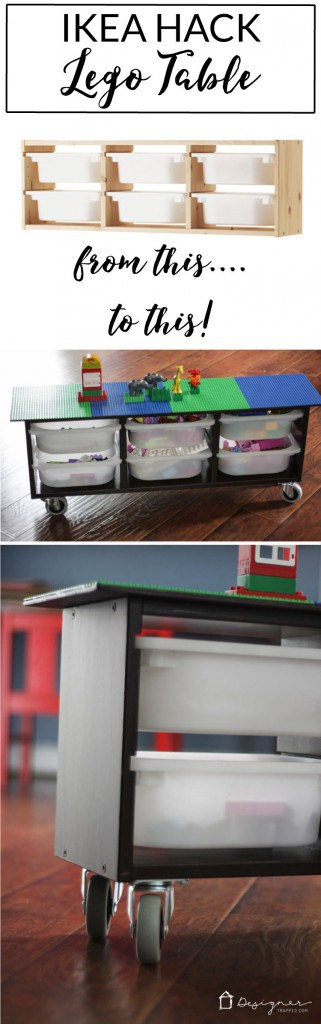 Make your own DIY lego table with this simple Ikea Hack. & Ikea Hack: DIY Lego Table | Designer Trapped in a Lawyeru0027s Body