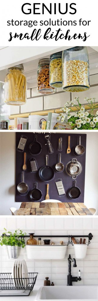 Have A Small Kitchen With Limited Storage No Problem These Small Kitchen Storage Ideas