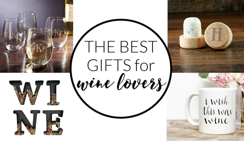 Have a wine lover in your life? Check out this list of best gifts for wine lovers. / wine cork art, monogrammed wine glasses, monogrammed wine bottle stopper/I wish this was wine mug/ www.designertrapped.com