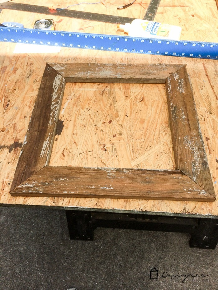 How to Make a DIY Picture Frame from Upcyled Wood ...