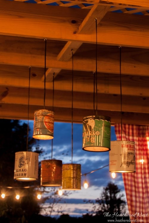 The ultimate in DIY outdoor projects--amazing creative lighting