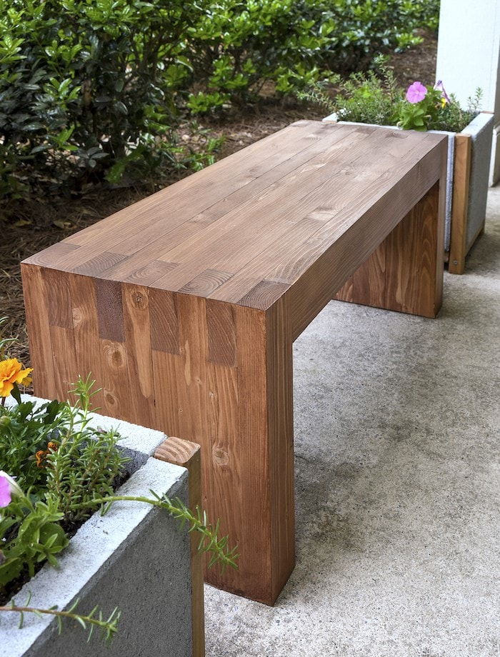 The best DIY outdoor projects? Finding something pricey and making it for way less.