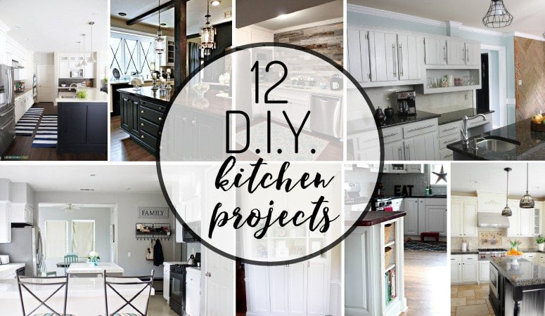12 Amazing DIY Kitchen Projects