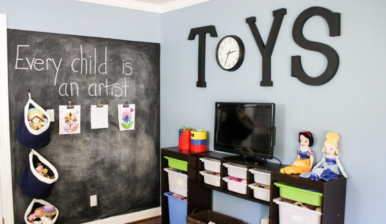 Kids' Playroom Reveal