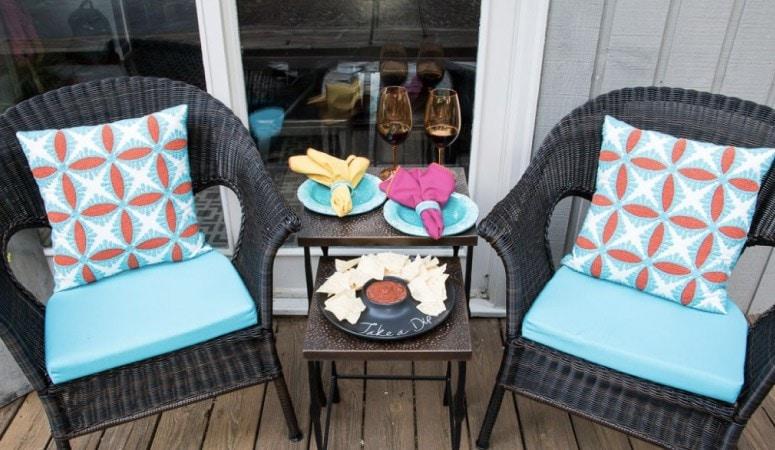 Small Porch Ideas + Reveal